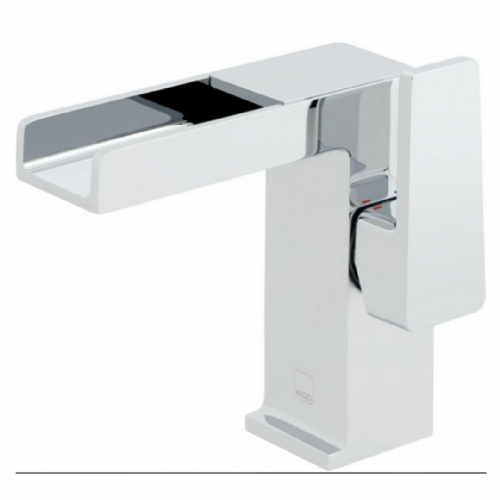 Vado Synergy Mono Waterfall Effect Basin Mixer In Chrome - Model SYN-100/SB-FR4/4-C/P